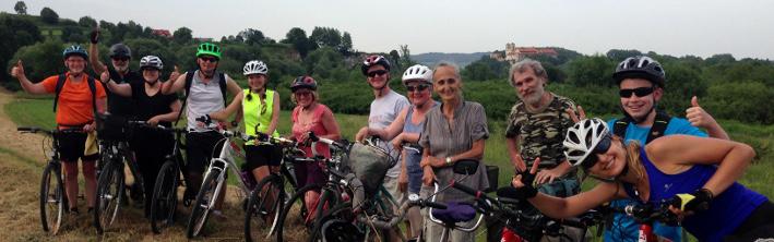 Zdjęcie z wycieczki rowerowej