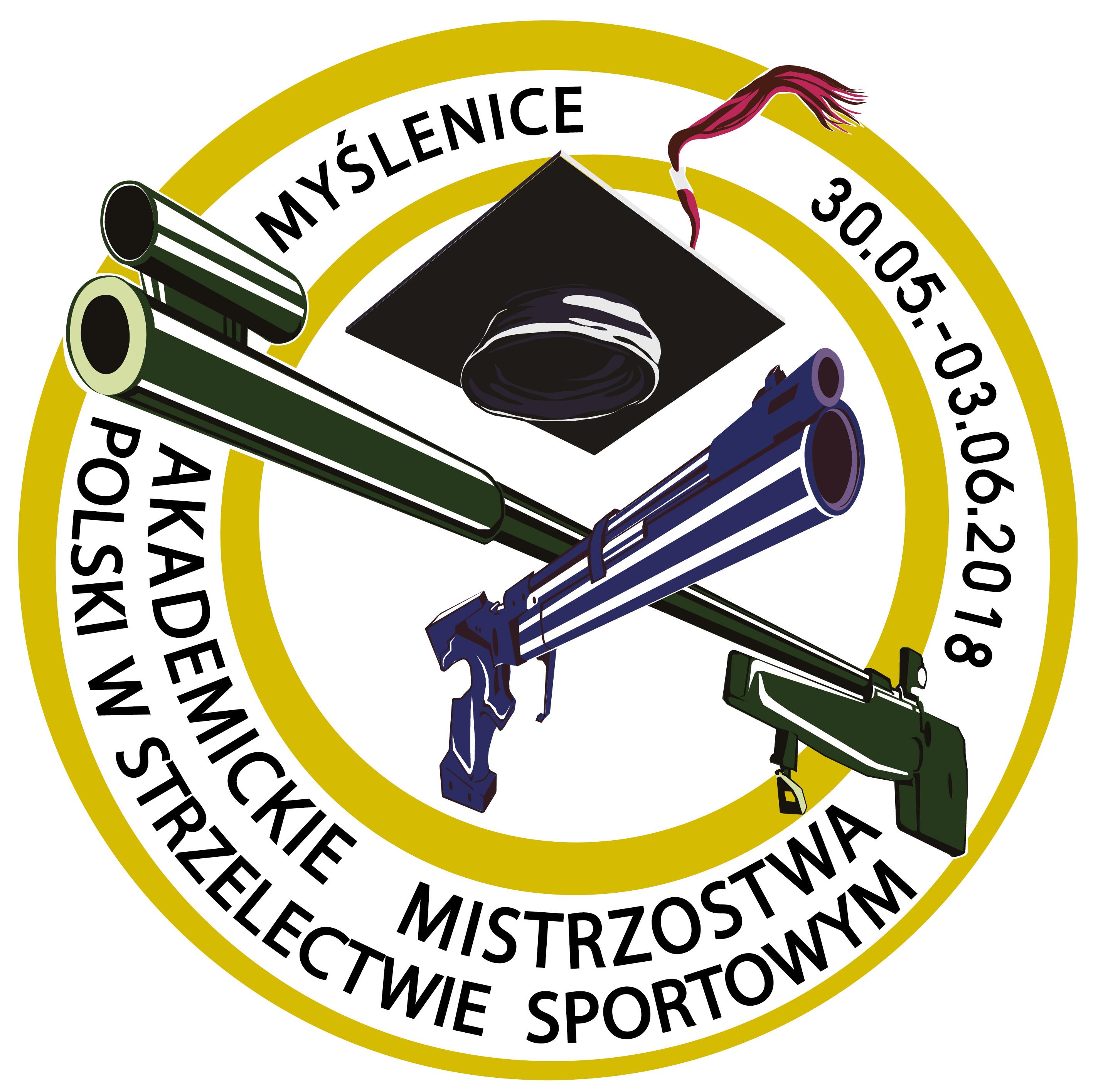 Logo Mistrzostw strzelectwo